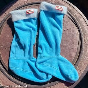 Blue Hunter Boot Socks